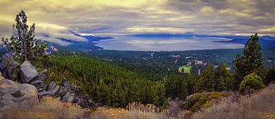 Photograph - Lake Tahoe And Incline Village by Maria Coulson