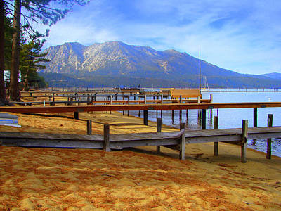 Lake Tahoe At  Camp Richardson Original