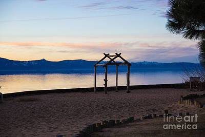 Photograph - Lake Tahoe At Dusk by Suzanne Luft
