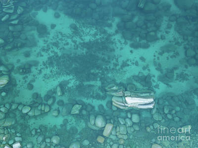 Photograph - Lake Tahoe Clear Water by Michael Ver Sprill