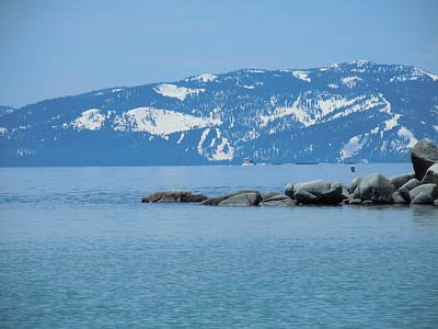 Photograph - Lake Tahoe by Dan Whittemore