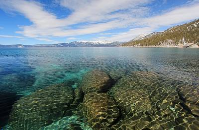 Photograph - Lake Tahoe Dimensional Depth by Sean Sarsfield