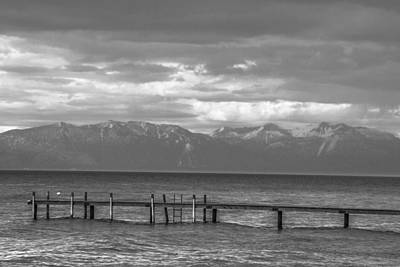 Photograph - Lake Tahoe Dock  by John McGraw