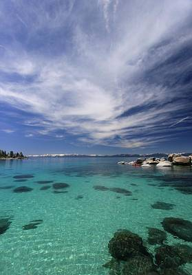 Photograph - Lake Tahoe Dreams  by Sean Sarsfield