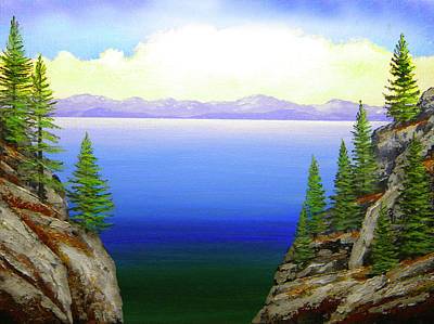 Painting - Lake Tahoe by Frank Wilson