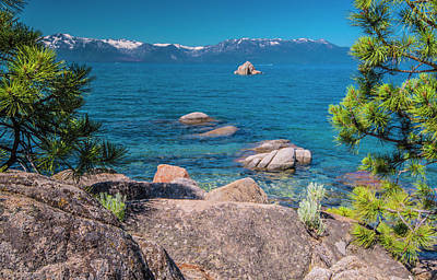 Photograph - Lake Tahoe In Summer II by Steven Ainsworth