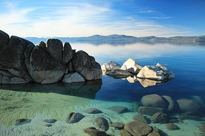 Photograph - Lake Tahoe Liquid Gold by Sean Sarsfield