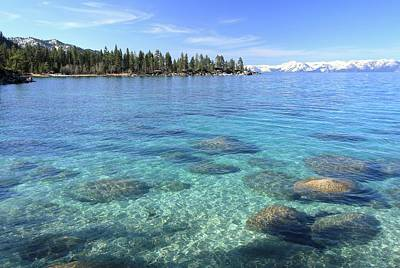 Photograph - Lake Tahoe Morning Glory by Sean Sarsfield