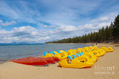 Photograph - Lake Tahoe Off Season by Irina Hays