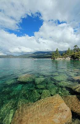 Photograph - Lake Tahoe Sky Eye by Sean Sarsfield