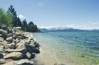 Photograph - Lake Tahoe South Shore by Margaret Pitcher