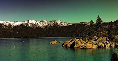 Photograph - Lake Tahoe Splendor by Nancy Marie Ricketts