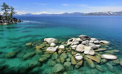 Photograph - Lake Tahoe Spring Clarity by Sean Sarsfield