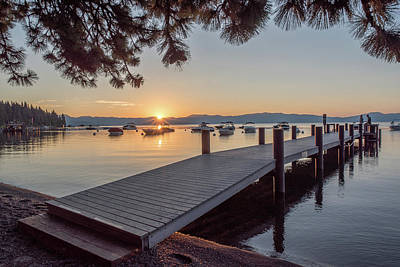 Photograph - Lake Tahoe Sunrise by Doug Ash