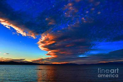 Photograph - Lake Tahoe Sunset by Irina Hays
