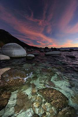 Photograph - Lake Tahoe Sunset Soul by Sean Sarsfield