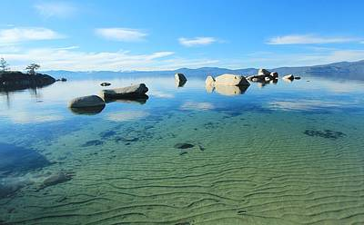Photograph - Lake Tahoe Treasure by Sean Sarsfield