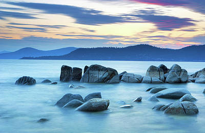 Photograph - Lake Tahoe Twilight by Eric Foltz