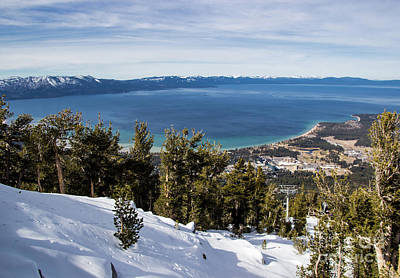 Photograph - Lake Tahoe Vista by Suzanne Luft