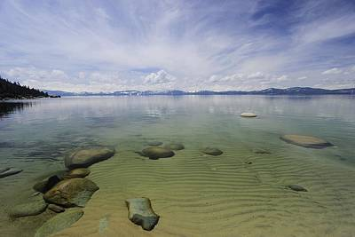Photograph - Lake Tahoe Winter Flow 2018 by Sean Sarsfield