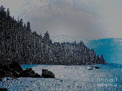 Photograph - Lake Tahoe Wrapped by Serena Ballard
