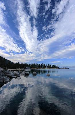 Photograph - Lake Tahoe's Alive by Sean Sarsfield