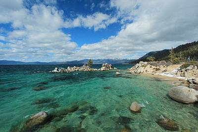 Photograph - Lake Tahoe's Alive With Treasure by Sean Sarsfield