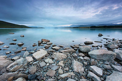 New Zealand Photograph - Lake Tekapo In Morning by Atan Chua