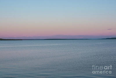 Photograph - Lake Temiskaming Pastel Sunset by Cheryl Baxter