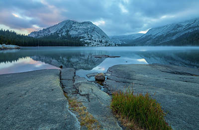 Photograph - Lake Tenaya  At Sunrise 2 by Jonathan Nguyen