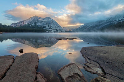 Photograph - Lake Tenaya  At Sunrise 3 by Jonathan Nguyen