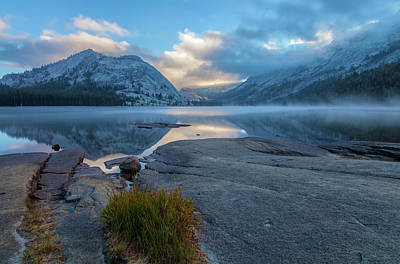 Photograph - Lake Tenaya  At Sunrise 4 by Jonathan Nguyen