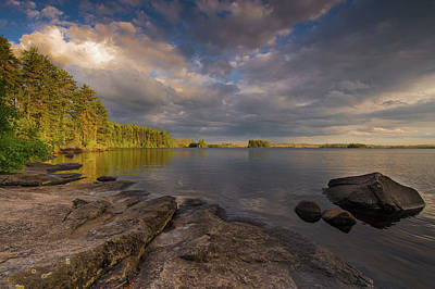 Photograph - Lake Three by Michael Balen
