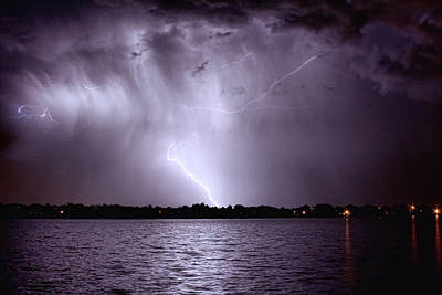 Lake Thunderstorm Art Print by James BO  Insogna