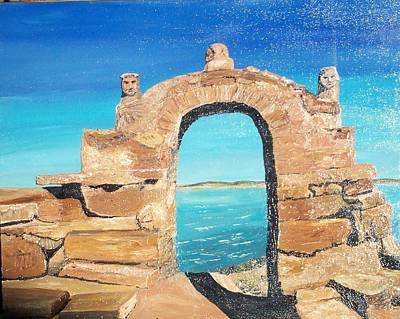 Lake Titicaca Peru Art Print by Tracey Mitchell