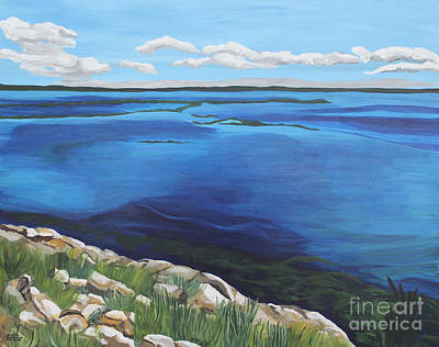 Painting - Lake Toho by Annette M Stevenson