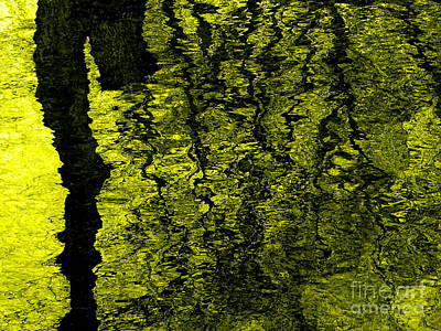 Digital Art - Tree Lake  Reflections #9 by Ed Weidman