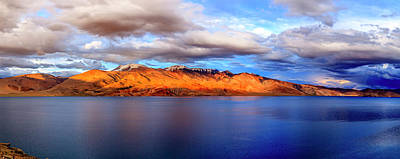 Photograph - Lake Tso Moriri by Alexey Stiop