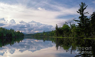 Photograph - Lake Umbagog, Errol, New Hampshire  -40310 by John Bald
