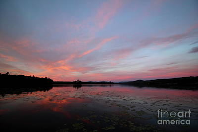 Photograph - Lake Umbagog Silent Sunrise  by Neal Eslinger