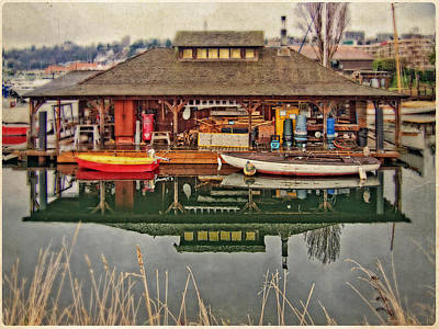 Photograph - Center For Wooden Boats by Thom Zehrfeld