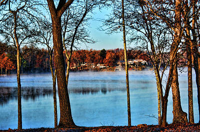 Photograph - Lake Vapors by Rick Friedle