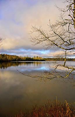 Reflective Waters Photograph - Lake View by Kathleen Sartoris