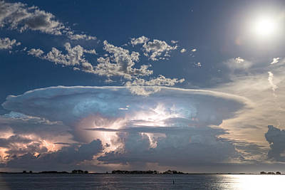 Photograph - Lake View Lightning Show by James BO Insogna