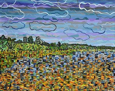 Lake Waccamaw Painting - Lake Waccamaw by Micah Mullen