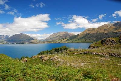 Photograph - Lake Wakapitu Landscape by Cascade Colors