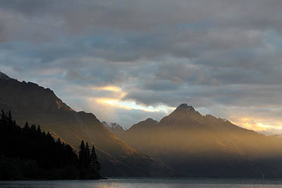 Aotearoa Photograph - Lake Wakatipu by Heather Raeburn