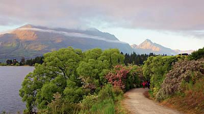 Photograph - Lake Wakatipu New Zealand Morning by Joan Carroll
