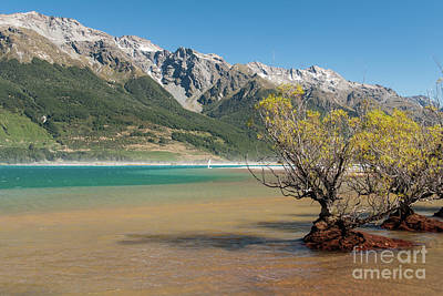 Lake Wakatipu Art Print by Werner Padarin