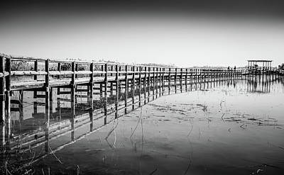 Photograph - Lake Walkway by Gary Gillette